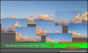 2014.08.20 | Summer morning clouds by Stock-Stock-Stock