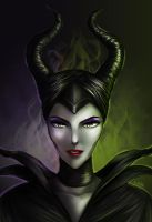 Once Upon A Dream : Maleficent by nayumi-green