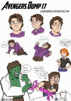 Avengers Dump 17 by LauraDoodles
