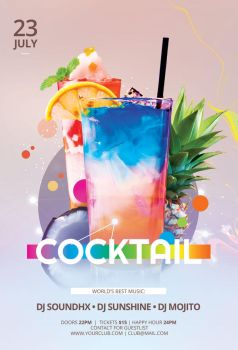 Cocktail Flyer by styleWish