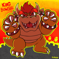 Super September! Day 29 - King Bowser by Rickz0r