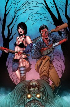 Hack/Slash vs Army of Darkness 01 cover by realcabz
