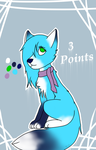 Female fox-2 adoption-open by Pinkwolfly
