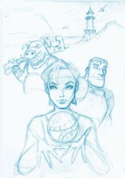 Beyond Good and Evil rough pencils by bedtime143