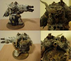 Chaos Daemon prince of Nurgle by Arta01