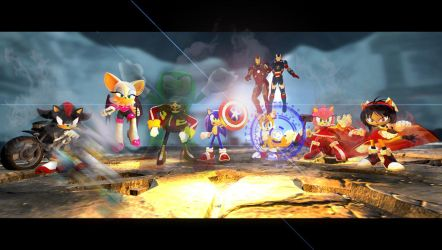 Avenger Sonic Team by shadow759