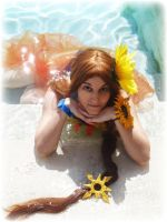 Leona Pool Party_cosplay by kairimiao13