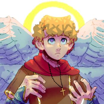 Angel boy.png by TenebrousTone