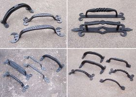 Forged doorhandles by Astalo