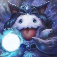 Midnight Ahri Poro (Day 18/365) by JamesExcalibur