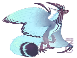 Fluffy Wyvern [Closed] by Zyraxus