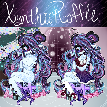 Xynthii: Raffle: Christmas 2017: CLOSED!! by ObsceneBarbie