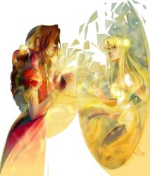 Aerith and Sailormoon by LimKis