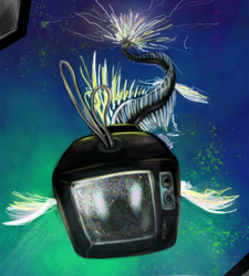 tv fish by disgustiphage