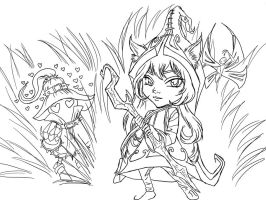 Veigar and Lulu by TheEmpa
