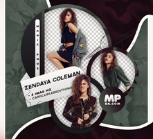 PACK PNG 814| ZENDAYA COLEMAN by MAGIC-PNGS