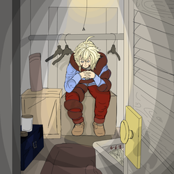 In the closet by Eclipse-Being