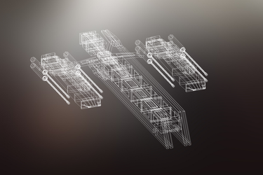 3D Spaceship Model by CreativityLazy