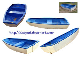 Little boat combo png by Elsapret