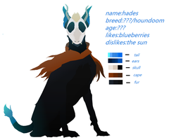 Ref Sheet For Hades by somefreshmaymays