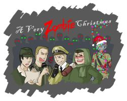 A Very Zombie Christmas by spidercandy