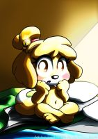 Camping with Isabelle by TarriPup