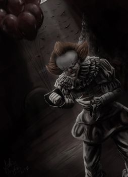 Pennywise by MeltingDragon