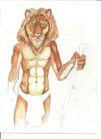 Aldebaran the Lion 001 by Nayikee