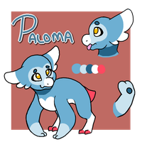 Wyngling Paloma by KASAnimation