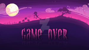 Chuck Amuck-GAME OVER by AngryPotato