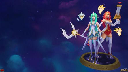 Star Guardian Miss Fortune and Soraka Long by YBourykina