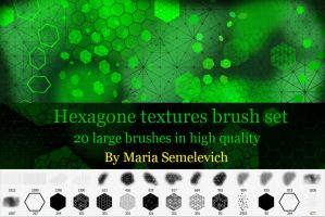 Hexagons textures by MariaSemelevich