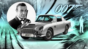 James Bond 007 Wallpaper by GregKmk