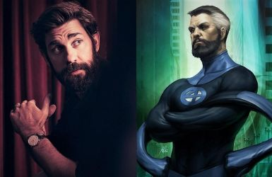 John Krasinski as Mr Fantastic  by TristanHartup