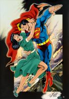 Superman and Lois by Al Rio by RossHughes