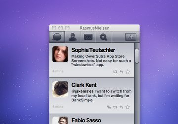 Twitter client theming by Soundy