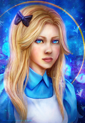 Alice in wonderland by Suixere