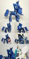 Season 2 Princess Luna G4 Custom Pony by Oak23