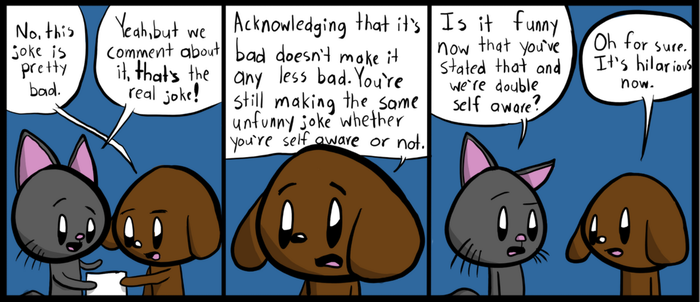 Comic Cat: Layers Of Self Awareness by ComicCatTad