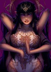 Narad'e, the Empress of the Soul by Amelion