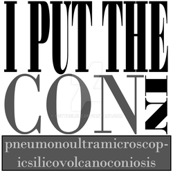 I put the CON in... by Getthelulz