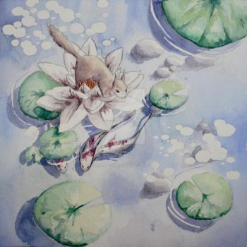 Squirell Lotus 2 by Anna-K-AREN