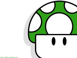 Green 1Up by myfriend-mike