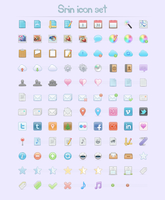 Stock icon set by okidoci