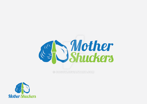 Mother Shuckers Logo by COGOW