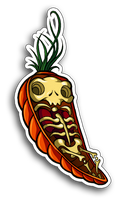 Carrot coffin by AbrahamGart