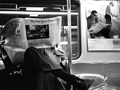 New York Times by Treamus