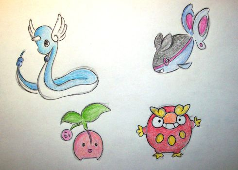 pokemon challenge day 26-27-28-29 by NicoTopin