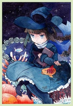 Deep Blue Sea - Wadanohara by revanche7th