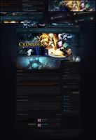 Crusader Theme - Fusion CMS by Evil-S